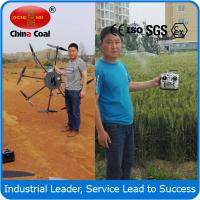 Buy cheap China coal group 2015 hot selling remote control helicopter agriculture sprayer uav drone crop duster from wholesalers