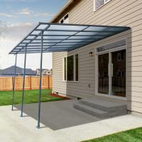 Buy cheap 300x300cm  Best Selling Sturdy aluminium frame hollow polycarbonate balcony patio cover ,Water Proof,Ice Proof from wholesalers
