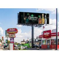 Buy cheap High Bright Outdoor Led Digital Signage , RGB Digital LED Billboard IP65/IP54 from wholesalers