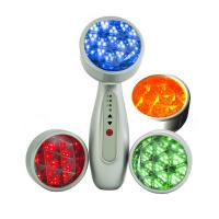 Buy cheap LED 3 in 1 Micro Vibration Anti Aging Skin Care Device Lightening Photon Therapy from wholesalers