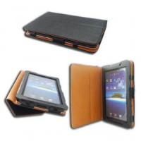 Buy cheap PU Leather Samsung Galaxy Tab Case Protective Cover for 10.1 GT-P7510 P7500 from wholesalers