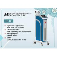 Buy cheap Facial Fractional RF Microneedle Machine For Acne Scar / Strech Mark Removal from wholesalers
