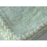 Plain Woven Chenille 100 Polyester Baby towel Blanket 30inch * 40inch Durable Manufactures