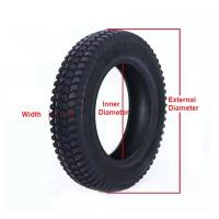 Buy cheap Solid Tyre 14-17.5 Electric Forklift Parts 916mm Overall Diameter from wholesalers