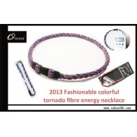 Buy cheap Health Germanium Titanium Colorful Braided Rope Necklace for Enhancing Blood Circulation from wholesalers