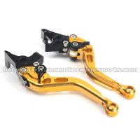 Buy cheap CNC Finished Motorcycle Brake Clutch Lever CBR600RR Shorty Levers from wholesalers
