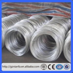 Supplier Price 0.8mm-4mm Galvanized Iron Wire(Guangzhou Factory)