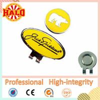 Buy cheap Promotional Golf Hat Clip With Golf Ball Marker Magnetic from wholesalers