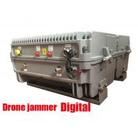 Wholesale Gps Glonass Satellite Signal Jammer , Drone Radio Frequency Jammer 20KM Long Range from china suppliers