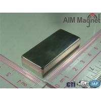 Buy cheap Size:50x25x12mm Ndfeb Long Block Magnet For Wind Generator from wholesalers