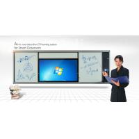 Buy cheap Single Sided LCD Intelligent Whiteboard , Dry Erase Marker Board with Colorful Pen from wholesalers