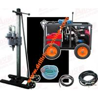 Portable Core Drilling Machine , Road Foundation Exploration Borehole Drilling Rig Manufactures
