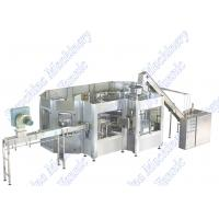 Buy cheap ABB Motor Drives Carbonated Soda Water Filling Machine 50 Filling Heads from wholesalers