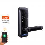 Buy cheap Security Home Intelligent Keyless Waterproof TUYA Fingerprint Door Lock from wholesalers