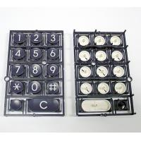 Buy cheap Black Overmolding Electronics Parts / Plastic Electronic Keyboards from wholesalers