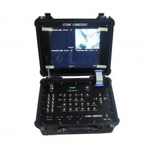 4 In One 17 inch Handheld COFDM Digital Receiver Box Wireless DVR Manufactures