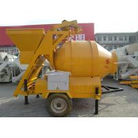 Buy cheap Industrial Portable Concrete Mixer JZM Series Small Portable Ladder Hoist Concrete Mixer With Lift from wholesalers