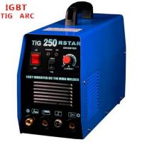 Buy cheap Blue Color Tungsten Inert Gas Welding Machine , IGBT AC DC Welding Machine from wholesalers