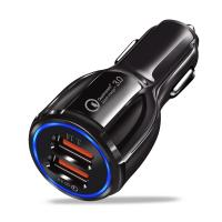 Buy cheap Black USB Car Charger MP3 Player Dual USB FM Transmitter High Frequency from wholesalers