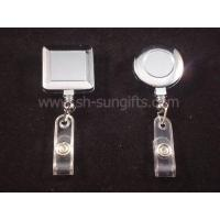 Buy cheap Electro-plating badge reel, retractable reel, retractable badge reel, promotiona product