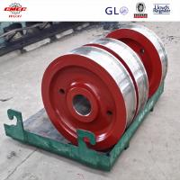 Buy cheap Custom Made Q345 / 40Cr DIN Crane Sheave Round Belt with Φ150mm~Φ2500mm from wholesalers
