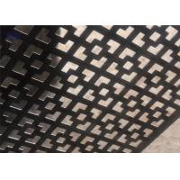 Wholesale Customized Decorative Perforated Sheet Metal Panels For Walls And Partitions from china suppliers