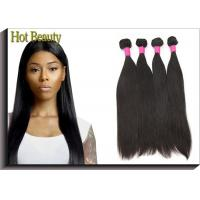 Buy cheap 8 - 30 Inch Non - Remy Virgin Human Hair Extensions Indian Straight from wholesalers