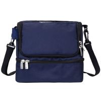 Buy cheap Blue Insulated Lunch Cooler Bag / Camouflage Cooler Bag Two Compartments from wholesalers