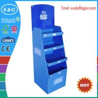 Buy cheap promotional custom book display stand shelf / notebook display rack / corrugated book display from wholesalers