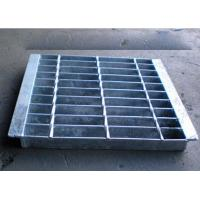 Buy cheap Anti Slip Outdoor Drain Grate Covers , Serrated Steel Trench Covers Grates from wholesalers