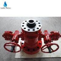 Wholesale API spec 6a tubing head wellhead equipment/Xmas tree for oil rig from china suppliers