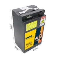 Buy cheap OEM 60V 40Ah LiFePo4 Motorcycle Battery With Laser Print Label from wholesalers