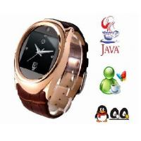 Wholesale Steel Case Quad Band Java Camera Touch Screen Watch Phone from china suppliers