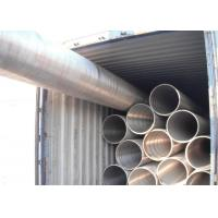 China Seamless Alloy Steel Tube P91 NDE Plain End Nuclear Power Plant Application on sale
