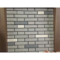 Building Wall Cladding Mixed Color Split Brick Veneer Wall Panels Different Sizes Manufactures