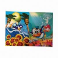 Buy cheap 3-D Lenticular Poster, Wonderful Designs, More Fresh and Clear Colors product