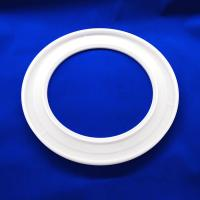 Buy cheap Round Strong Hardness Quartz Tube Flange With High Heat Resistance from wholesalers
