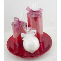 Wholesale Natural Scented Candle Gift Sets Pillar and Ball Home Decor from china suppliers