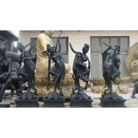 Wholesale Bronze ancient figure band play music sculpture from china suppliers