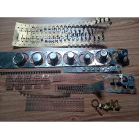 Buy cheap Stamping Die / Moulds Brass Stamping Parts One Row Cavity Sodick Wire EDM from wholesalers