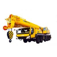 Buy cheap Heavy 100 Ton Truck Crane Hydraulic Mobile Crane QY100k With Plug-In Boom Head from wholesalers