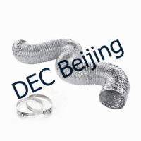 Buy cheap High quality Aluminum Foil Flexible Duct silver flexible HVAC duct for HVAC system from wholesalers