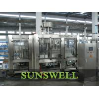 3 In 1 Water Carbonated Filling Machine With Washer / Filler / Capper Manufactures