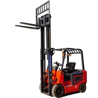 Buy cheap 2500kg 4 Directional Compact Sit Down Battery Operated Forklift from wholesalers
