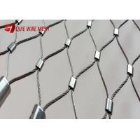 Buy cheap 7x7 Construction Metal Wire Mesh Inox Cable Wire Rope Mesh Weather Resistant from wholesalers