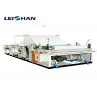 Wholesale Recycling Paper Rewinding Machine , Toilet Tissue Paper Slitter Rewinder Machine from china suppliers