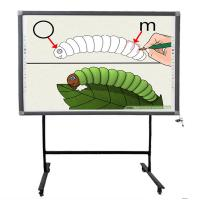 Buy cheap Infrared Finger Touch Multi-touch and Multi-users Writing simultaneously Interactive Electronic Whiteboard from wholesalers
