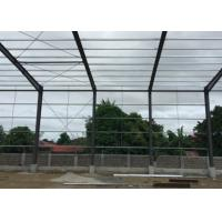 Wholesale Poultry Farm Steel Warehouse Construction / Steel Frame Storage Buildings Size Custom from china suppliers