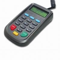 Buy cheap Small Reliable and Secure Pin Pad, Meets with the Strict PCI PED V2.1 from wholesalers
