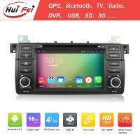 Buy cheap Capacitive Touch Screen 2 Din Car DVD For BMW E46 With Android 4.4 System Hui Fei from wholesalers
